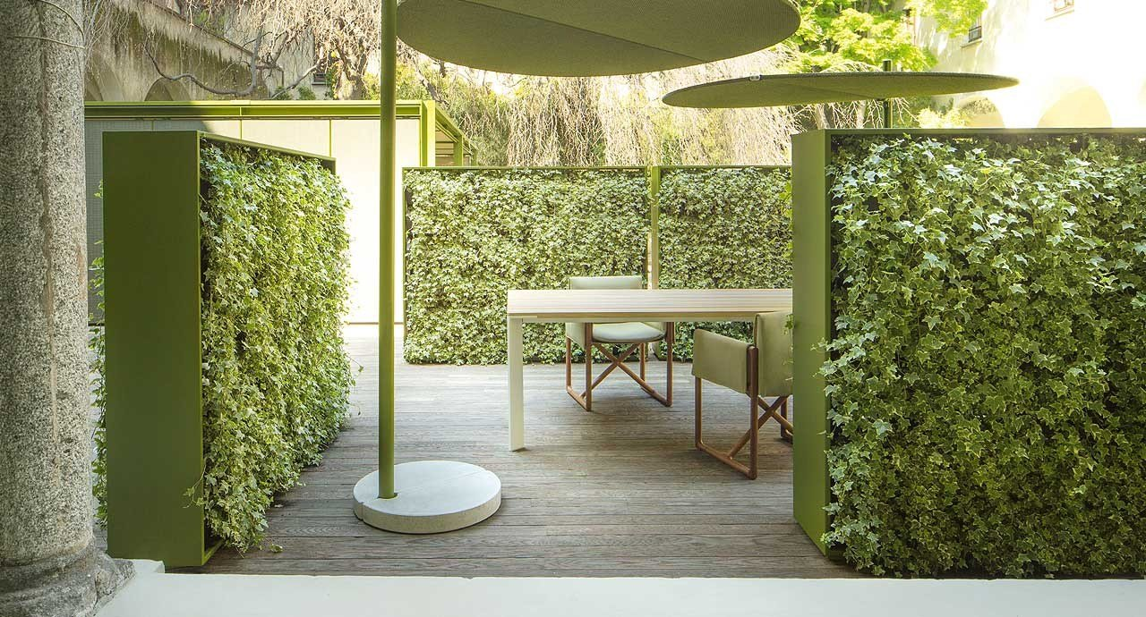 Indoor Vertical Garden Greenery By Paola Lenti Design Crs