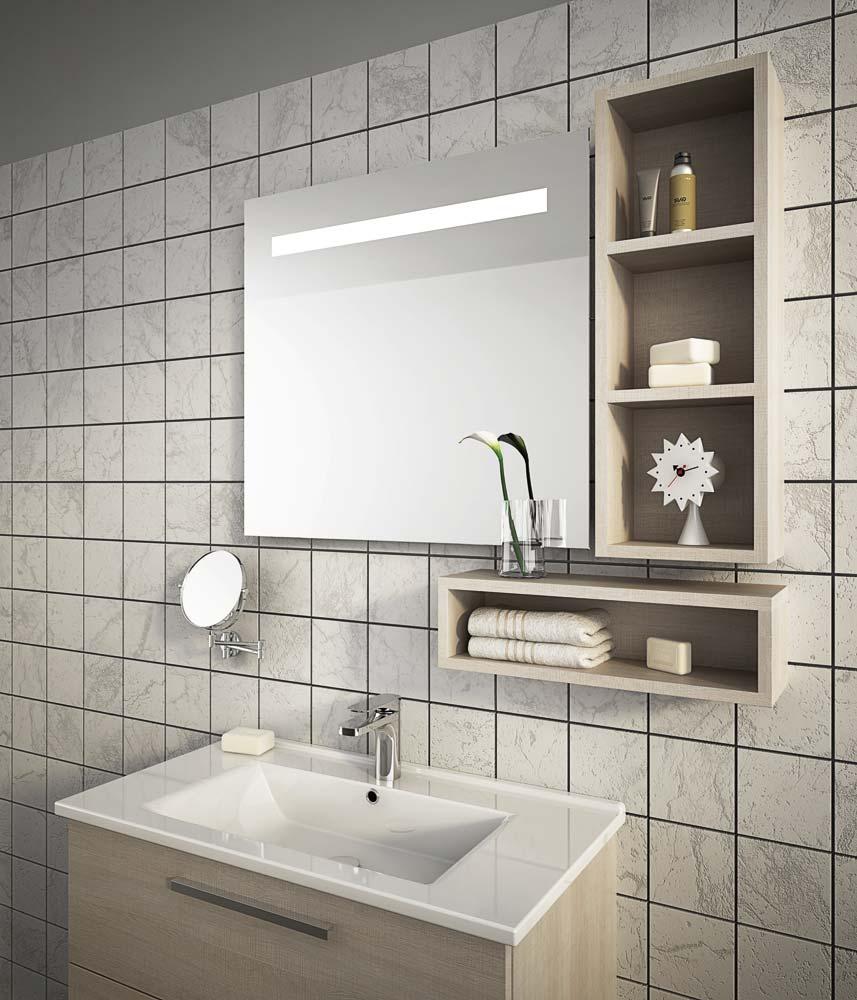 Mobile lavabo sospeso con cassetti harlem h14 collezione urban by legnobagno - Lavabo sospeso con mobile ...
