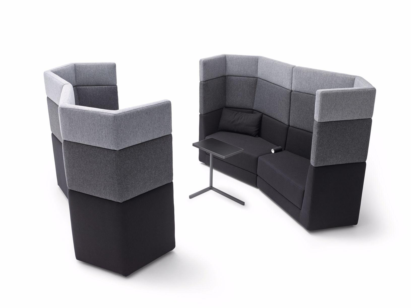 sofa aus stoff mit hoher r ckenlehne kollektion scope by cor sitzm bel helmut l bke design uwe. Black Bedroom Furniture Sets. Home Design Ideas