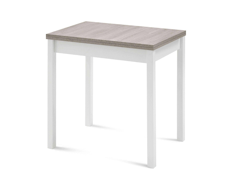 Tavolo allungabile rettangolare in legno hot m by domitalia - Larghezza tavolo ...