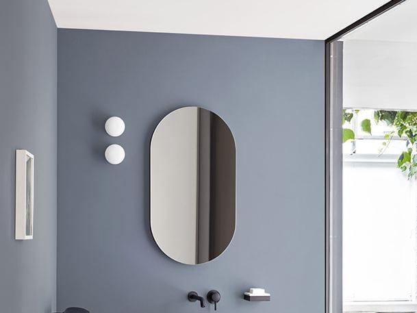 I catini specchio ovale collezione i catini by ceramica cielo design andrea parisio giuseppe - Specchio ovale per bagno ...