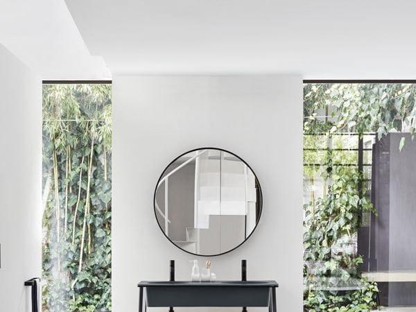 I catini specchio rotondo collezione i catini by ceramica cielo design andrea parisio giuseppe - Specchio bagno rotondo ...