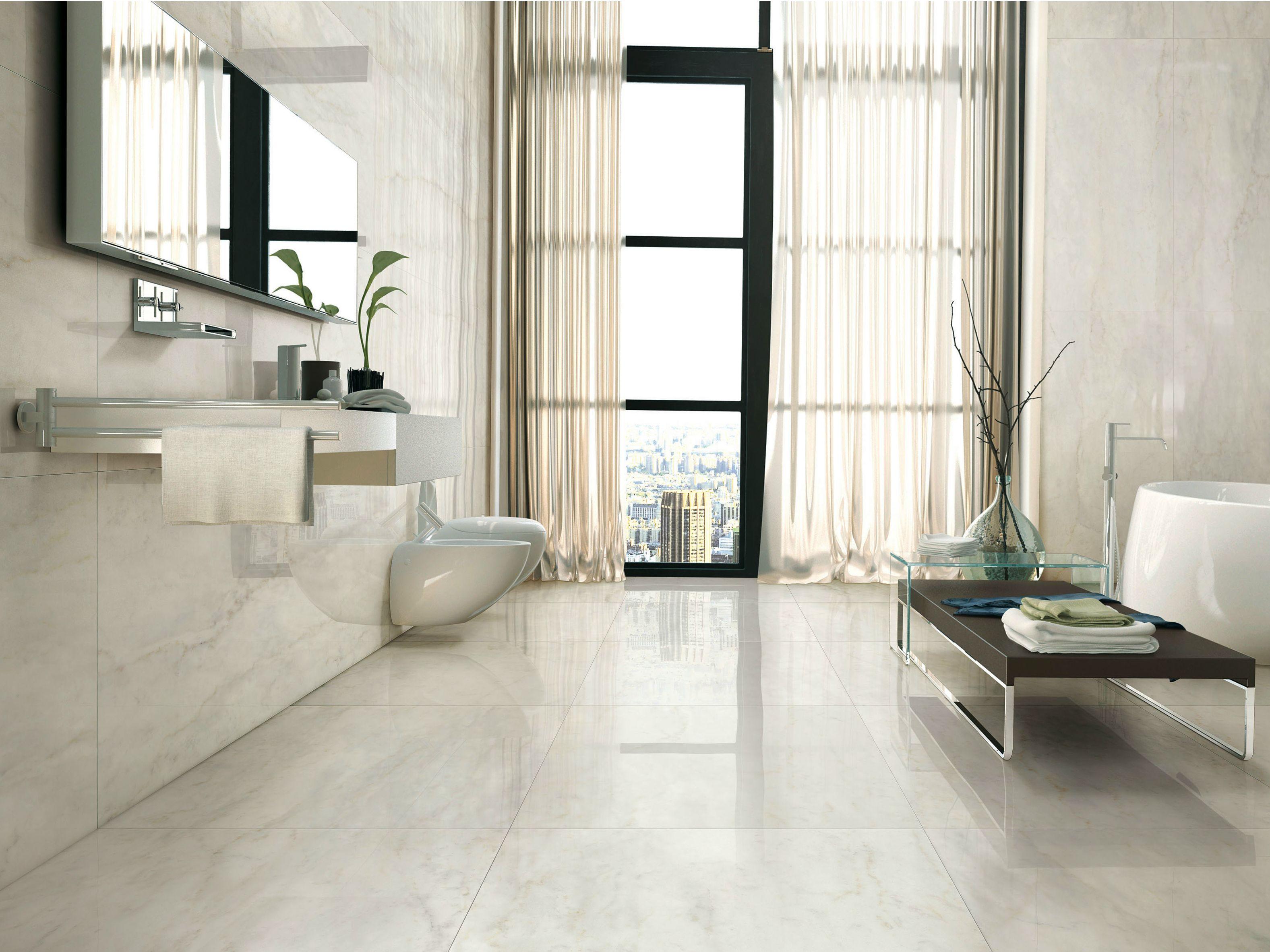 Revestimiento de pared suelo de gres porcel nico imitaci n - Suelos porcelanicos imitacion marmol ...