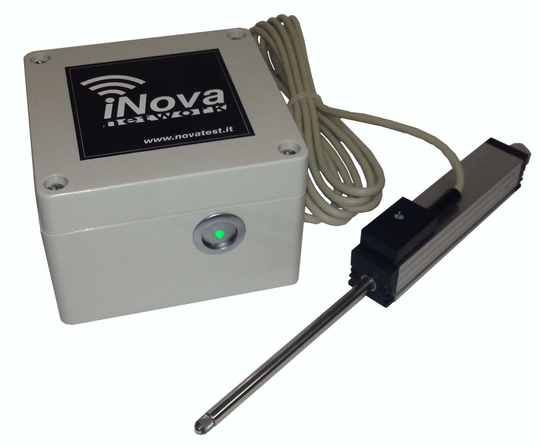 Data Acquisition Transducer Testing Setup : Inova transducers by novatest
