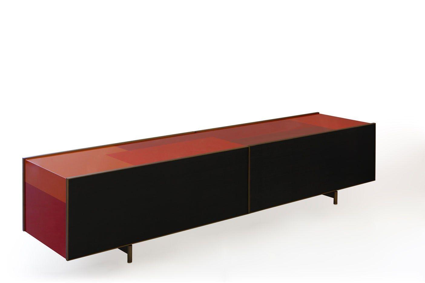 lacquered sideboard ipercolore by porro design piero lissoni. Black Bedroom Furniture Sets. Home Design Ideas