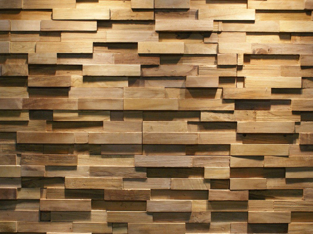 reclaimed wood 3d wall tile java sp straight by teakyourwall. Black Bedroom Furniture Sets. Home Design Ideas