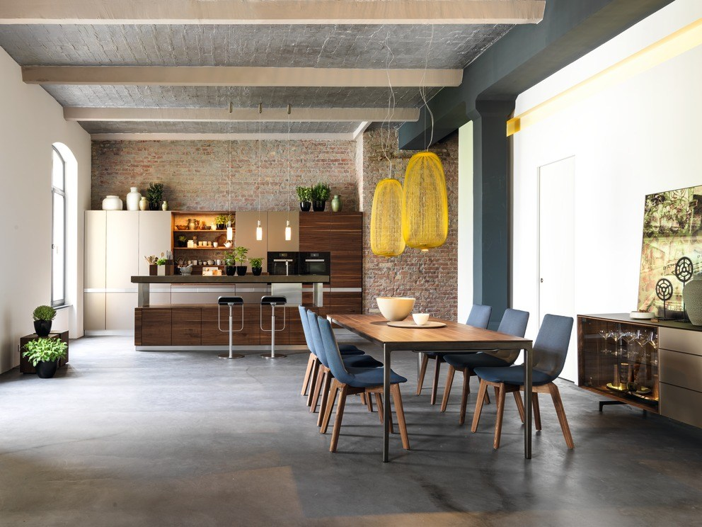Küche aus massivem holz mit kücheninsel k7 by team 7 natürlich ...