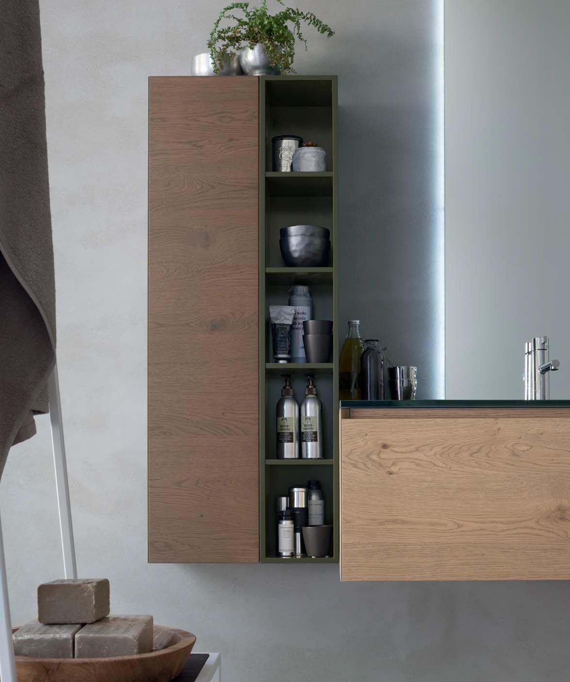 Meuble pour salle de bain meuble sous vasque en ch ne la for Meuble pour collection