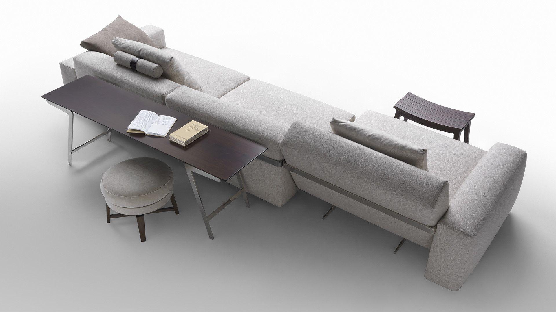 Lario 2016 divano a 4 posti collezione lario by flexform for Citterio arredamenti