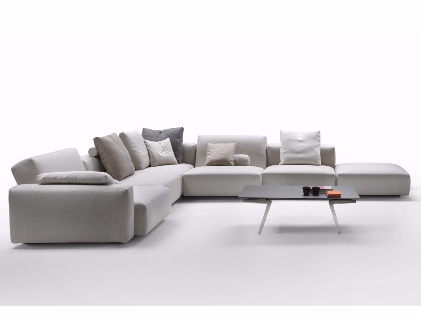 Superb img of  lario 2016 corner sofa flexform Wood Frame Sofa With Cushions sofa with #775E54 color and 1684x1262 pixels