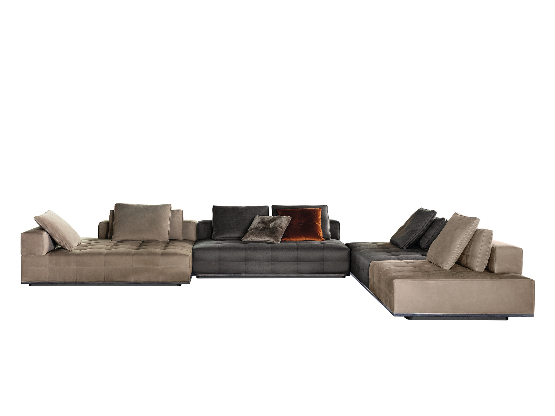 lawrence sofa lawrence collection by minotti. Black Bedroom Furniture Sets. Home Design Ideas