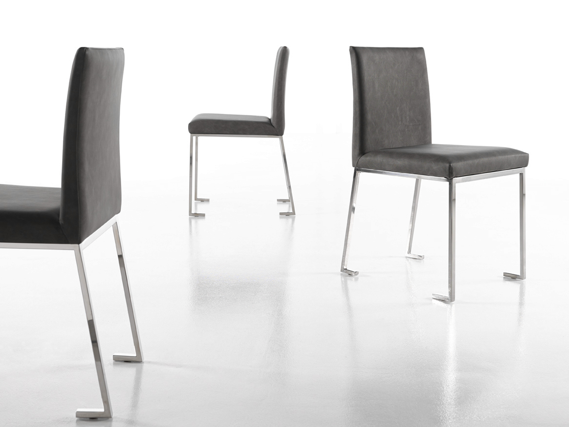 BERLINER Leather chair Berliner Collection By Altinox design
