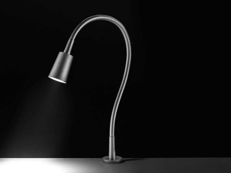 LED reading lamp with swing arm Leddi Wall T by PURALUCE
