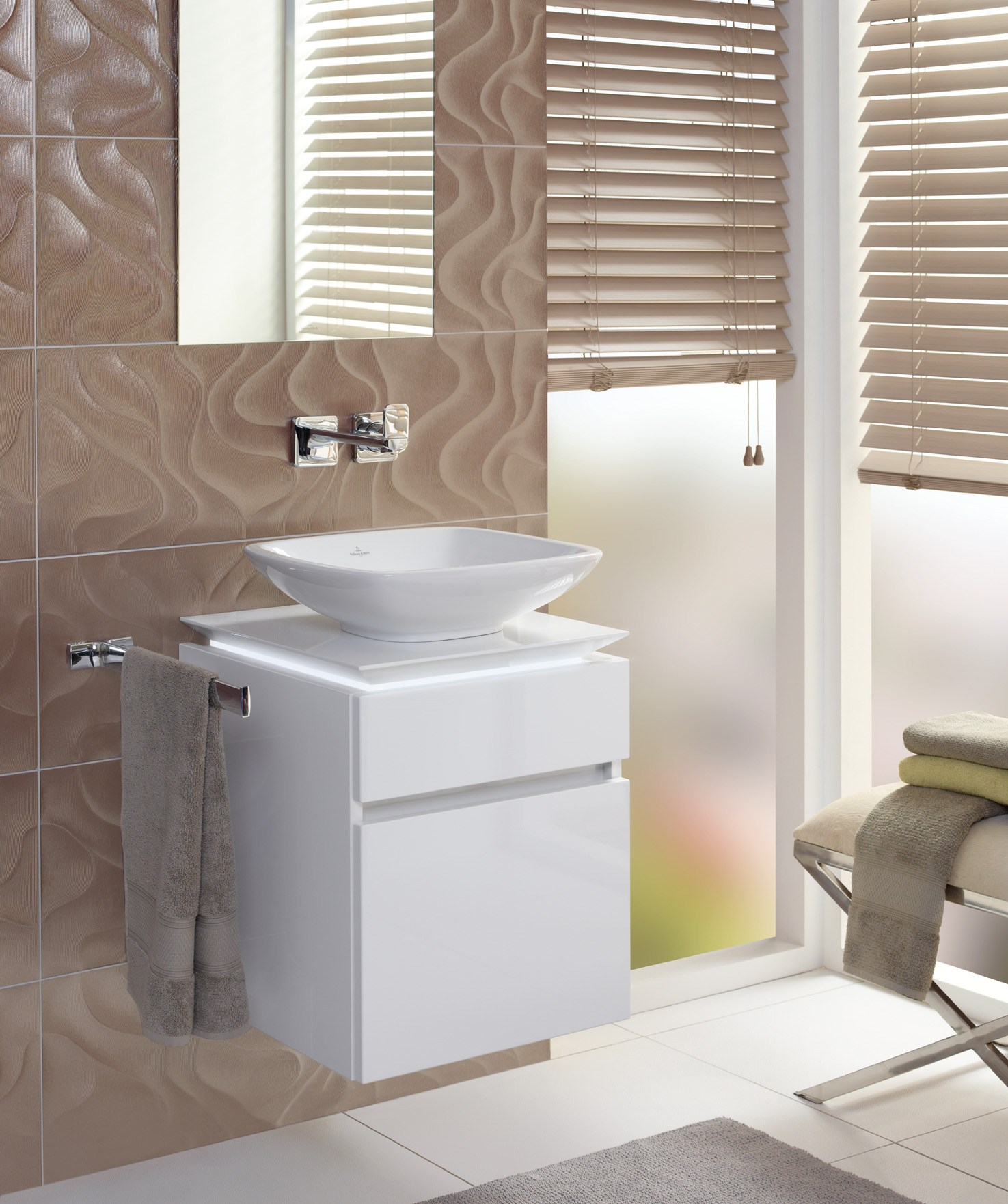 legato vanity unit by villeroy boch - Villeroy And Boch Bathroom Cabinets