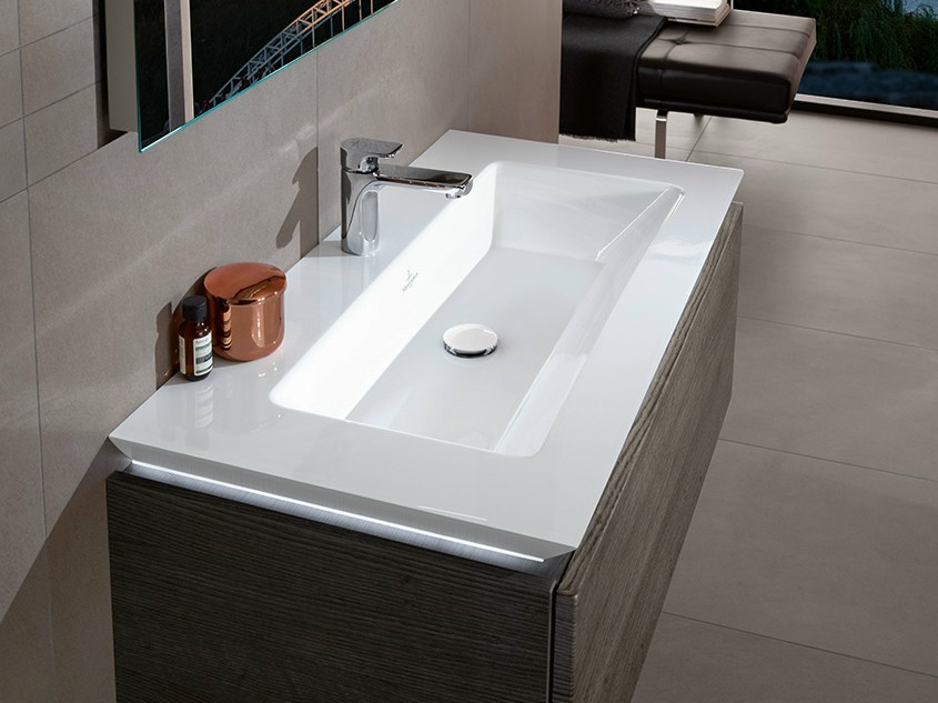 Legato washbasin by villeroy boch - Vasque salle de bain villeroy et boch ...