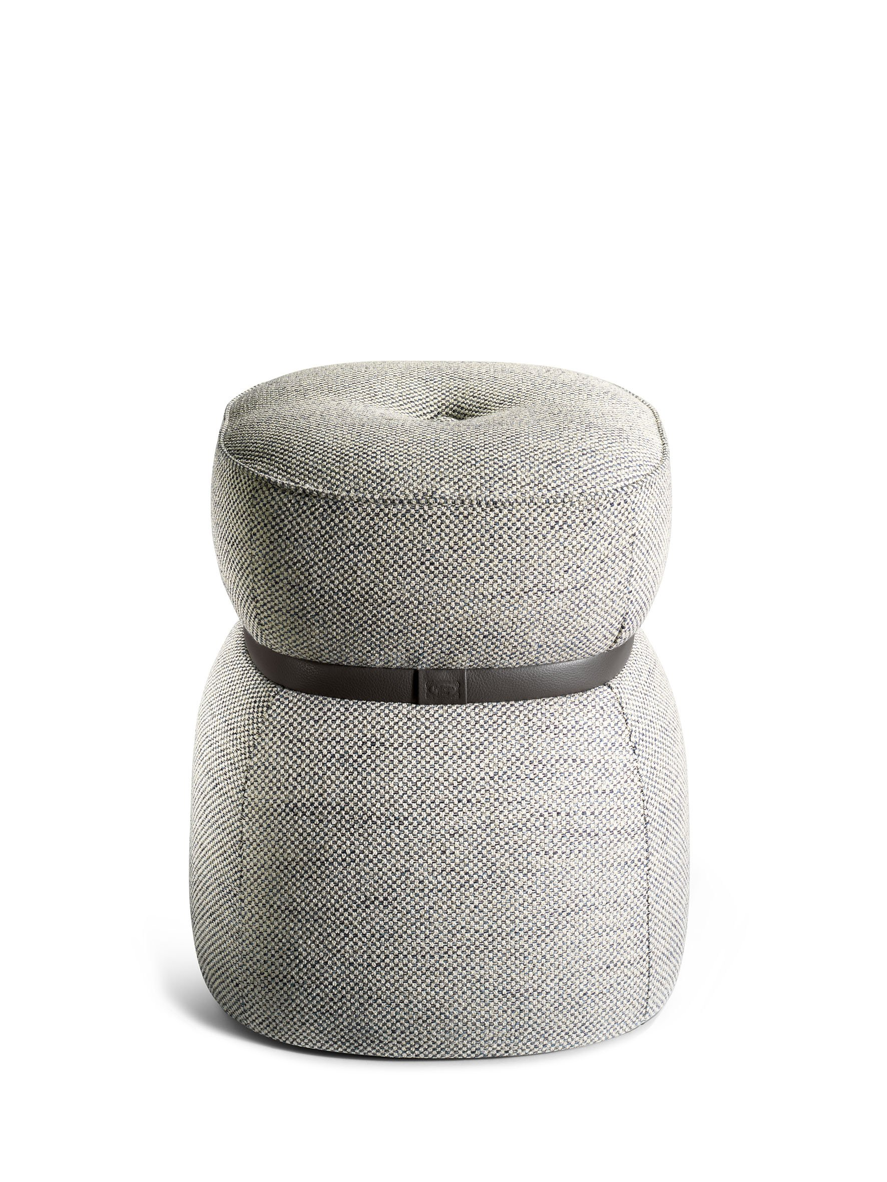 Lepli fabric stool the collection sofa and armchairs for Sofa stool design