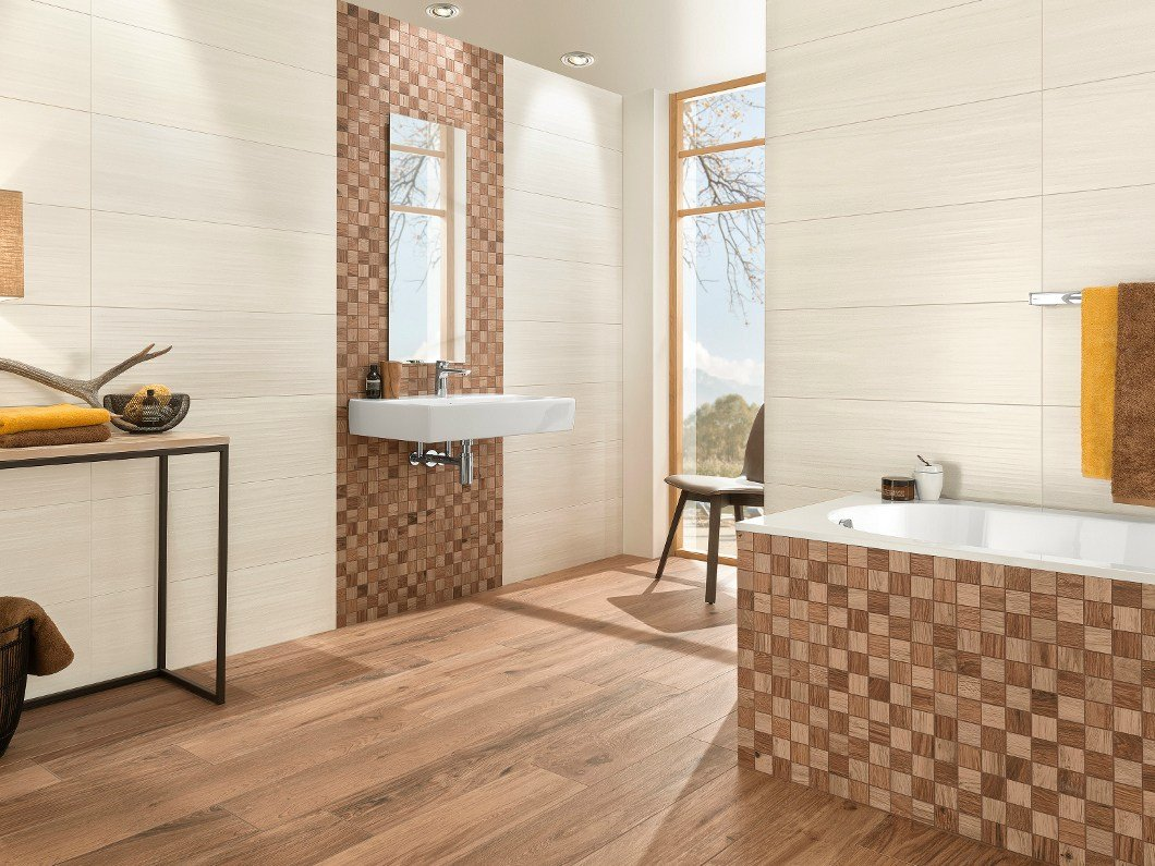 Bathroom Tiles Villeroy Boch indoor porcelain stoneware wall tiles with wood effect lodge wall
