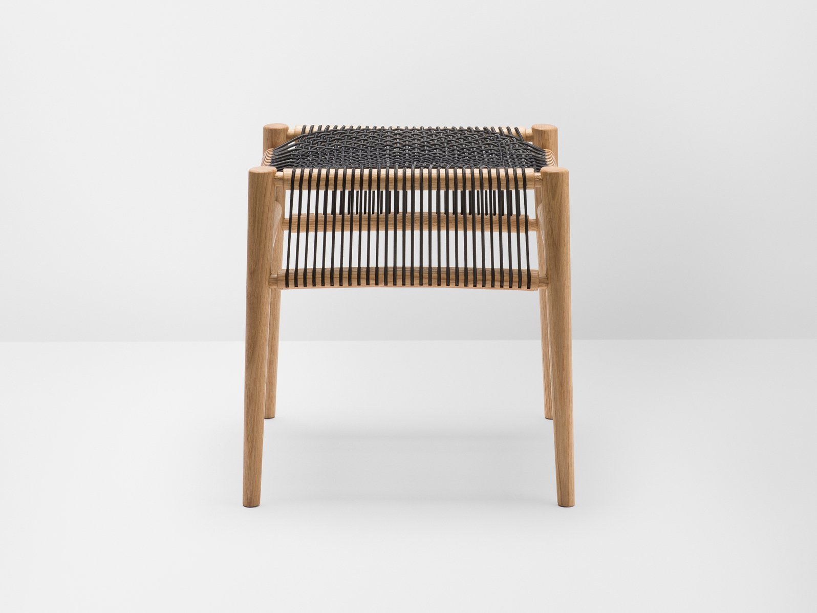 Loom oak stool loom collection by h furniture design hierve for H furniture collection loom