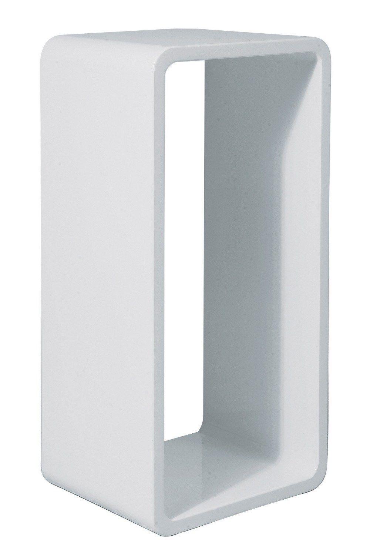 table d 39 appoint laqu e en mdf lounge cube white xl by kare. Black Bedroom Furniture Sets. Home Design Ideas