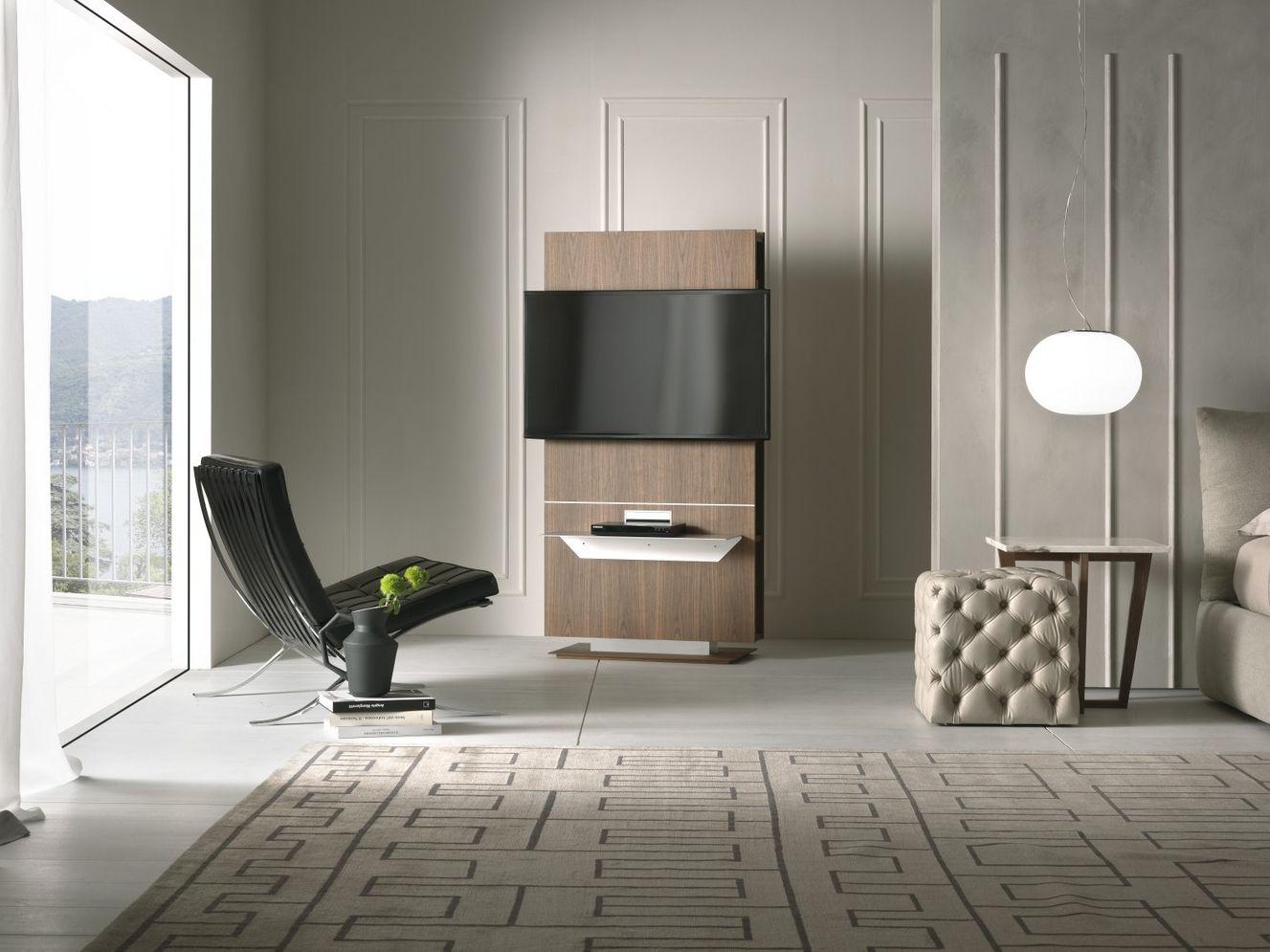 Lounge mobile tv by pacini cappellini design fabio rebosio for Mobile porta tv girevole design