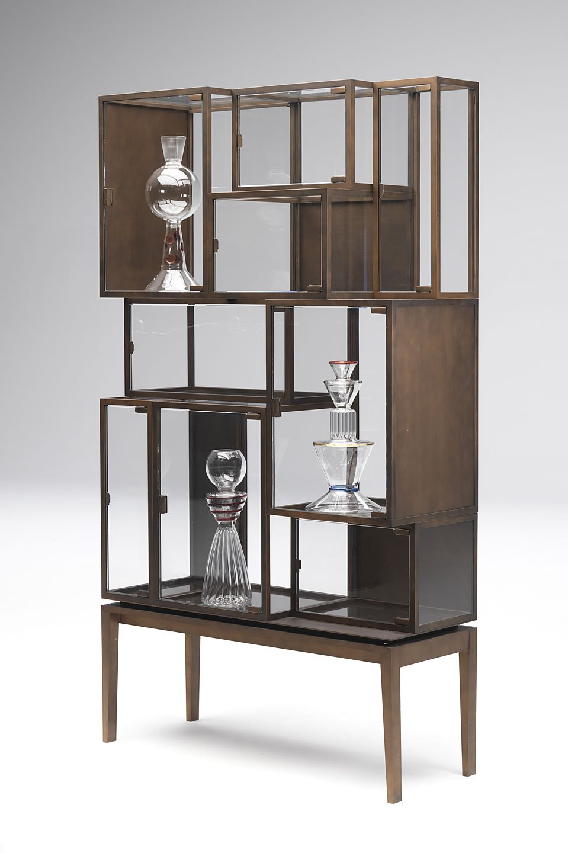 Vetrina ludobox by paolo castelli design paolo castelli - Castelli mobili ...