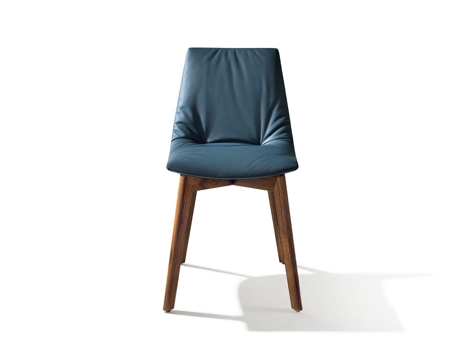 lui stuhl aus leder by team 7 nat rlich wohnen design jacob strobel. Black Bedroom Furniture Sets. Home Design Ideas