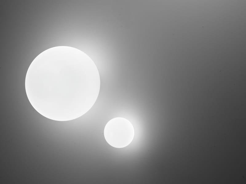 Lumi sfera lampada da parete collezione lumi sfera by - Lampada da parete design ...