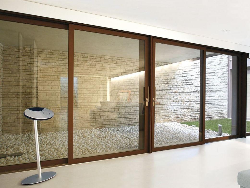 M55 finestra alzante scorrevole by capoferri serramenti - Finestra a taglio termico ...