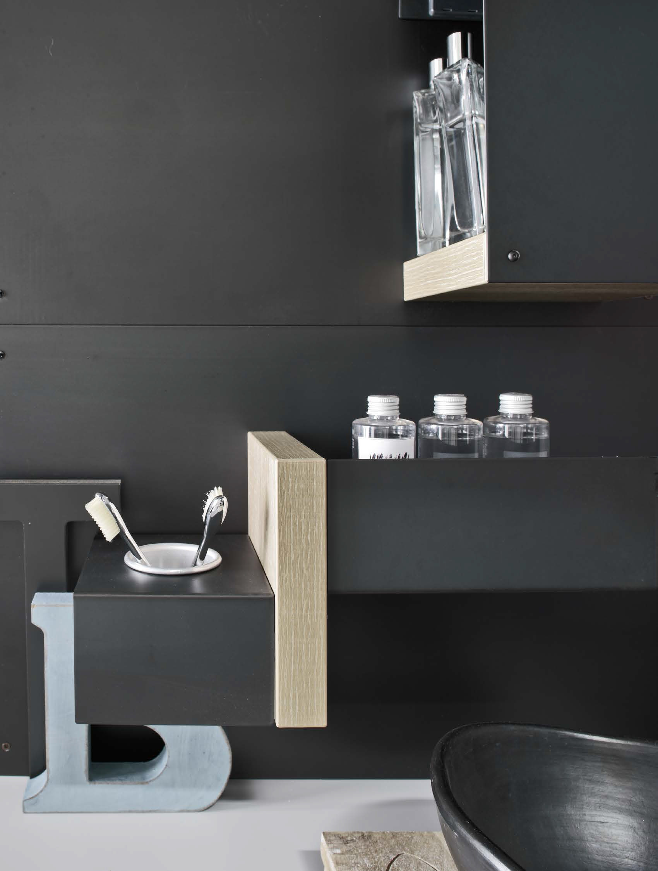 Meuble pour salle de bain meuble sous vasque magnetica for Meuble pour collection
