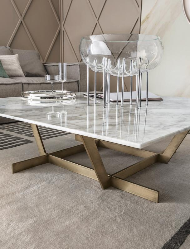 REGENTMarble coffee table Regent Collection By Casamilano