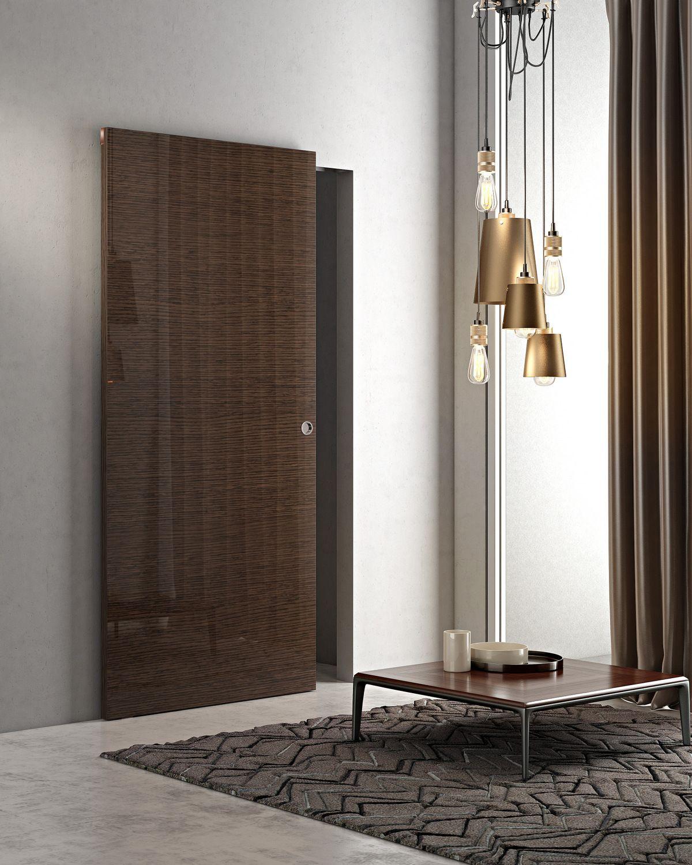 Porta scorrevole in legno marsia collezione marsia by pail serramenti - Porte interne pail ...