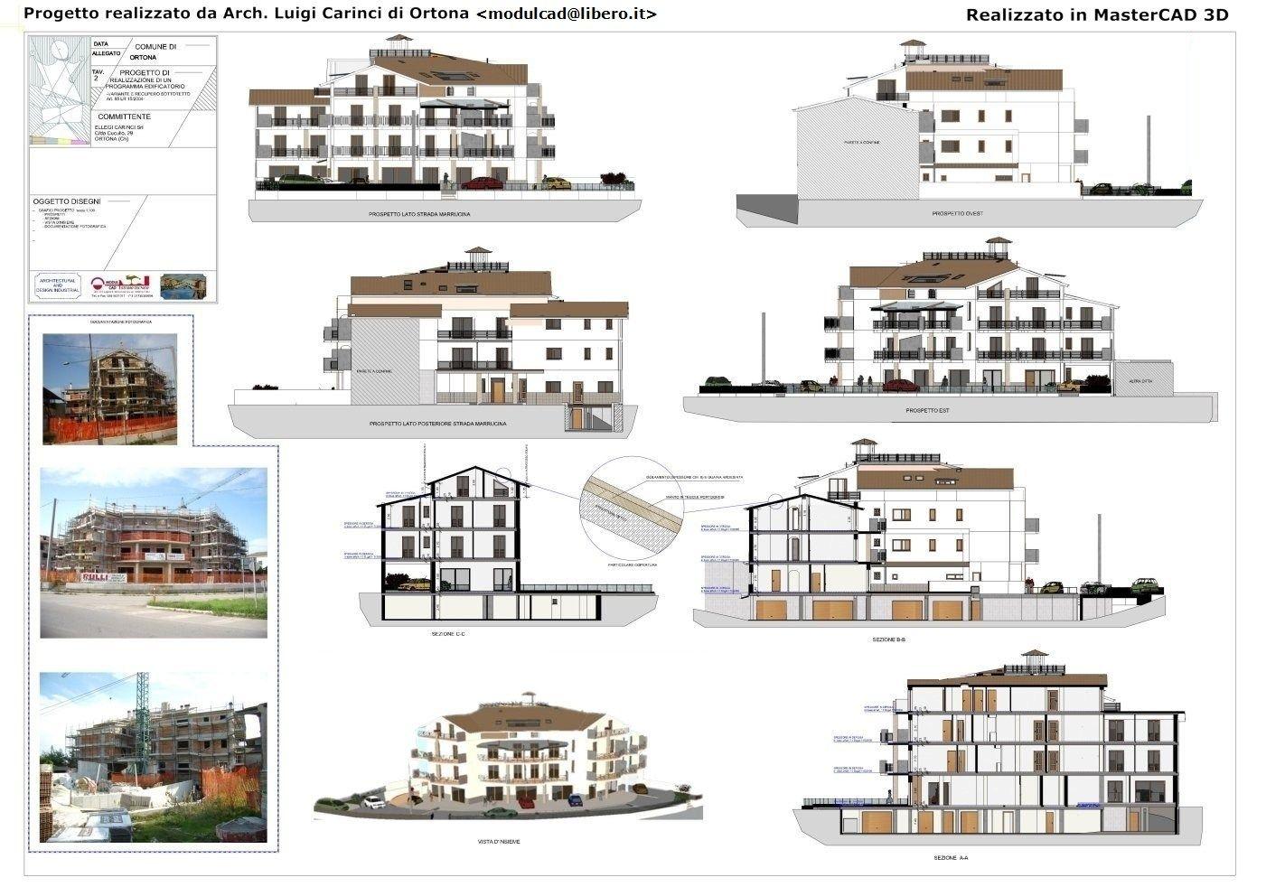 Progettazione cad 2d 3d con rendering mastercad 3d by for Esempi di disegni di planimetrie della casa