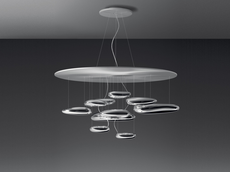 MERCURY Lampada a sospensione Collezione Mercury by Artemide Italia design Ross Lovegrove