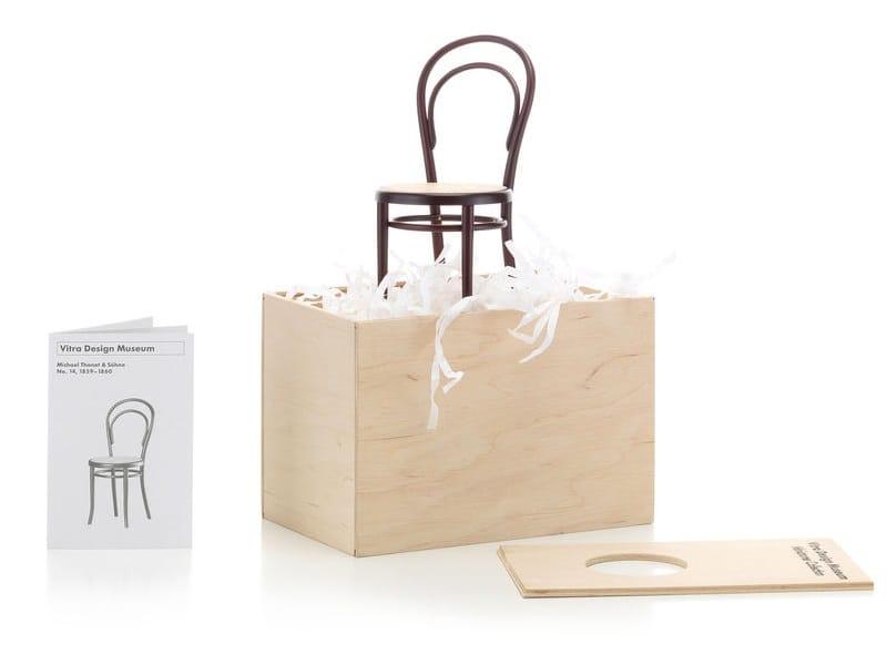 Soprammobile miniatures stuhl no 14 collezione miniatures for Mobili bauhaus repliche