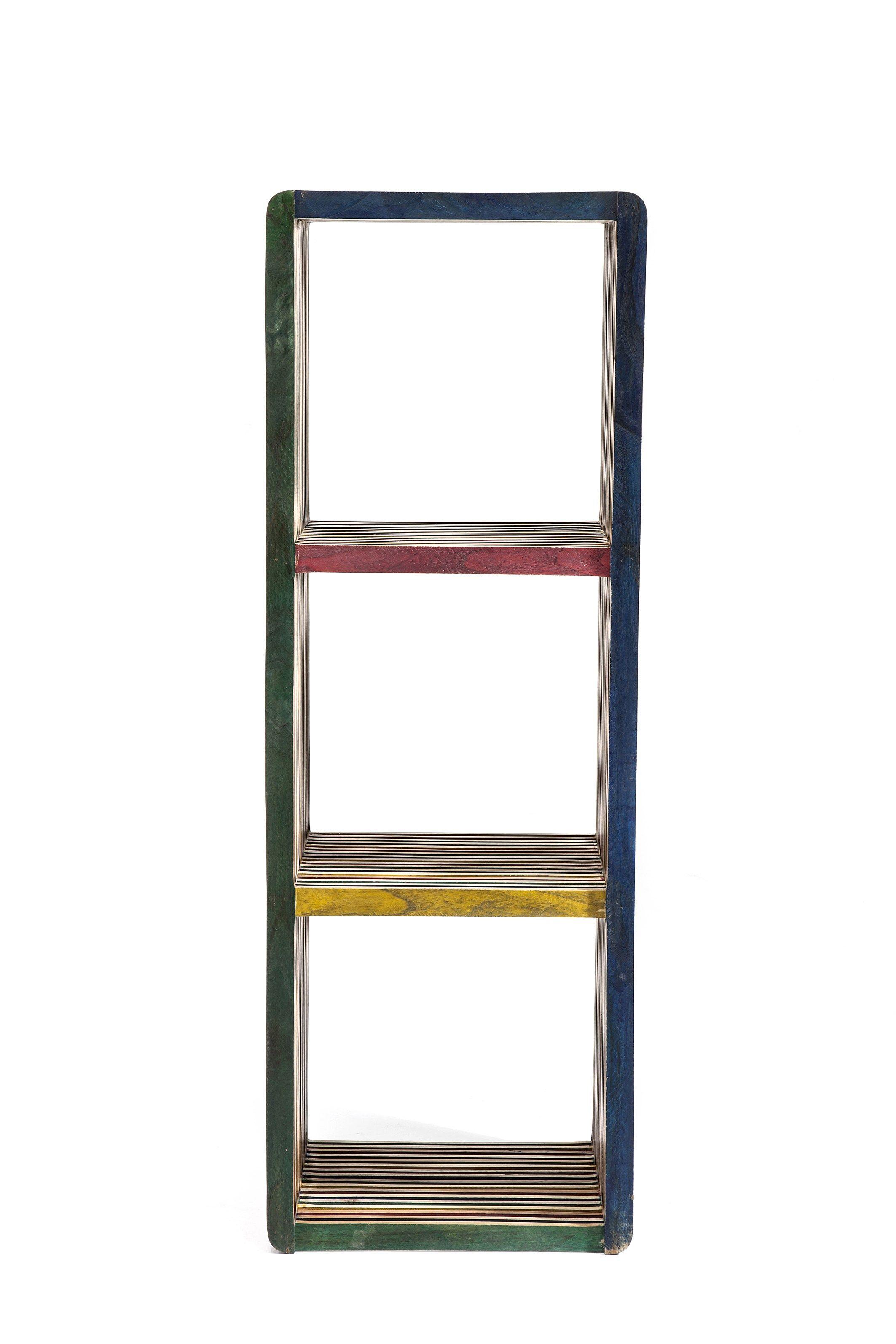 Open Teak Bookcase Micado By Kare Design