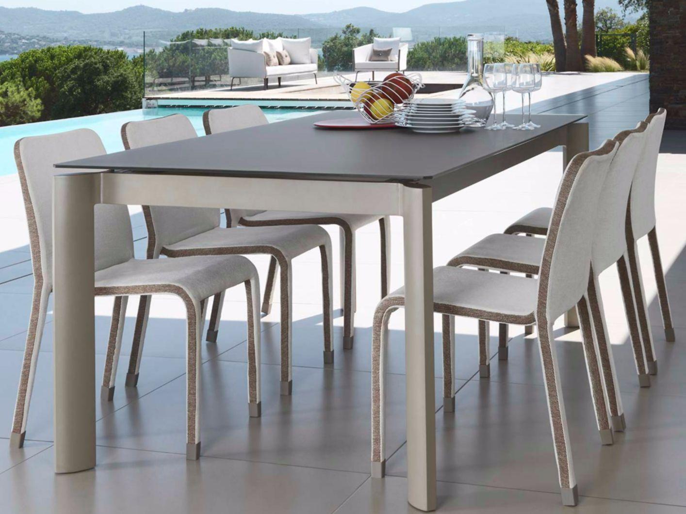 Milo fabric tavolo collezione milo fabric by talenti for Tavolo giardino
