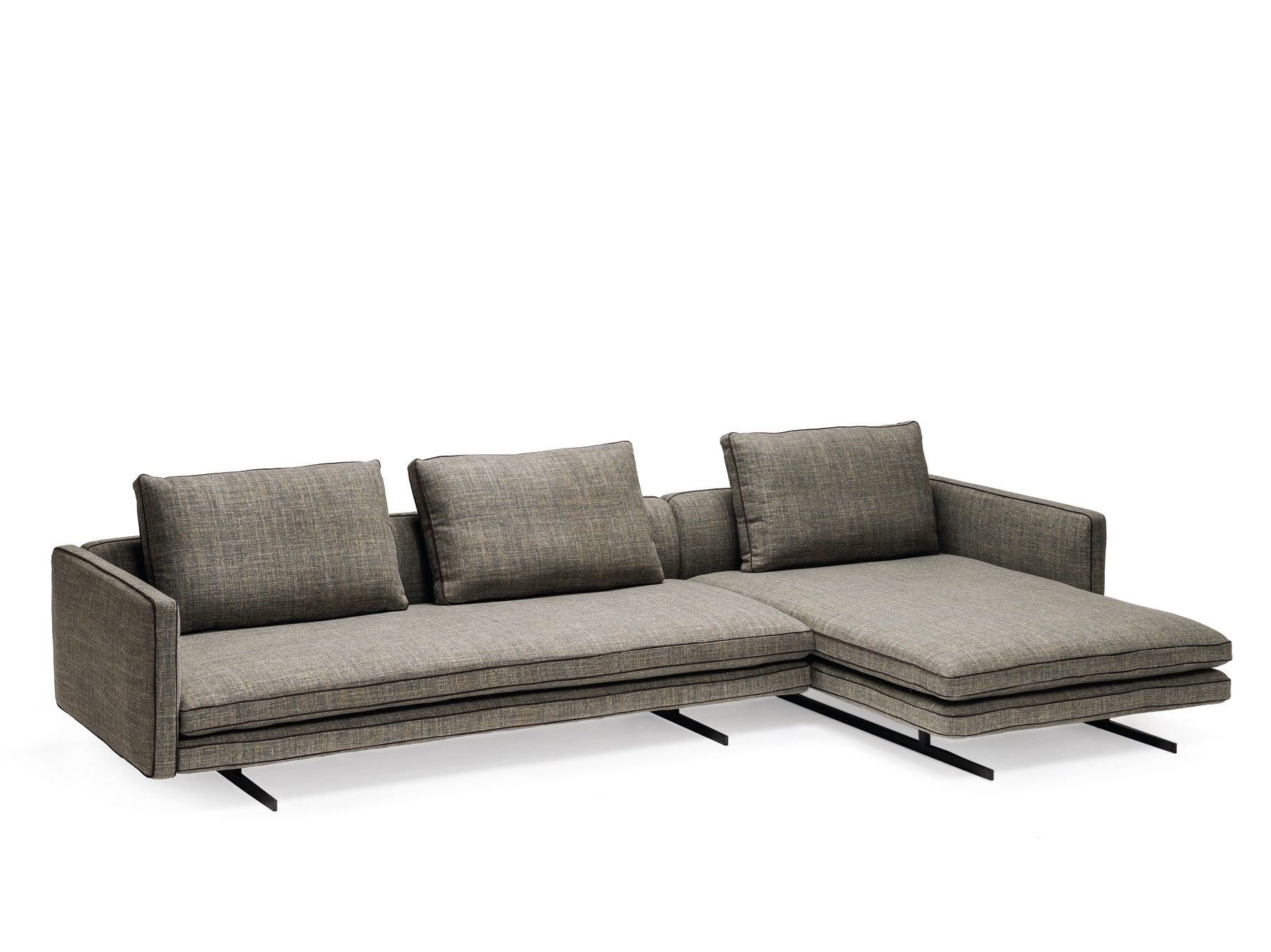 Sofa with chaise longue 28 images abbe sofa with - Sofa piel chaise longue ...