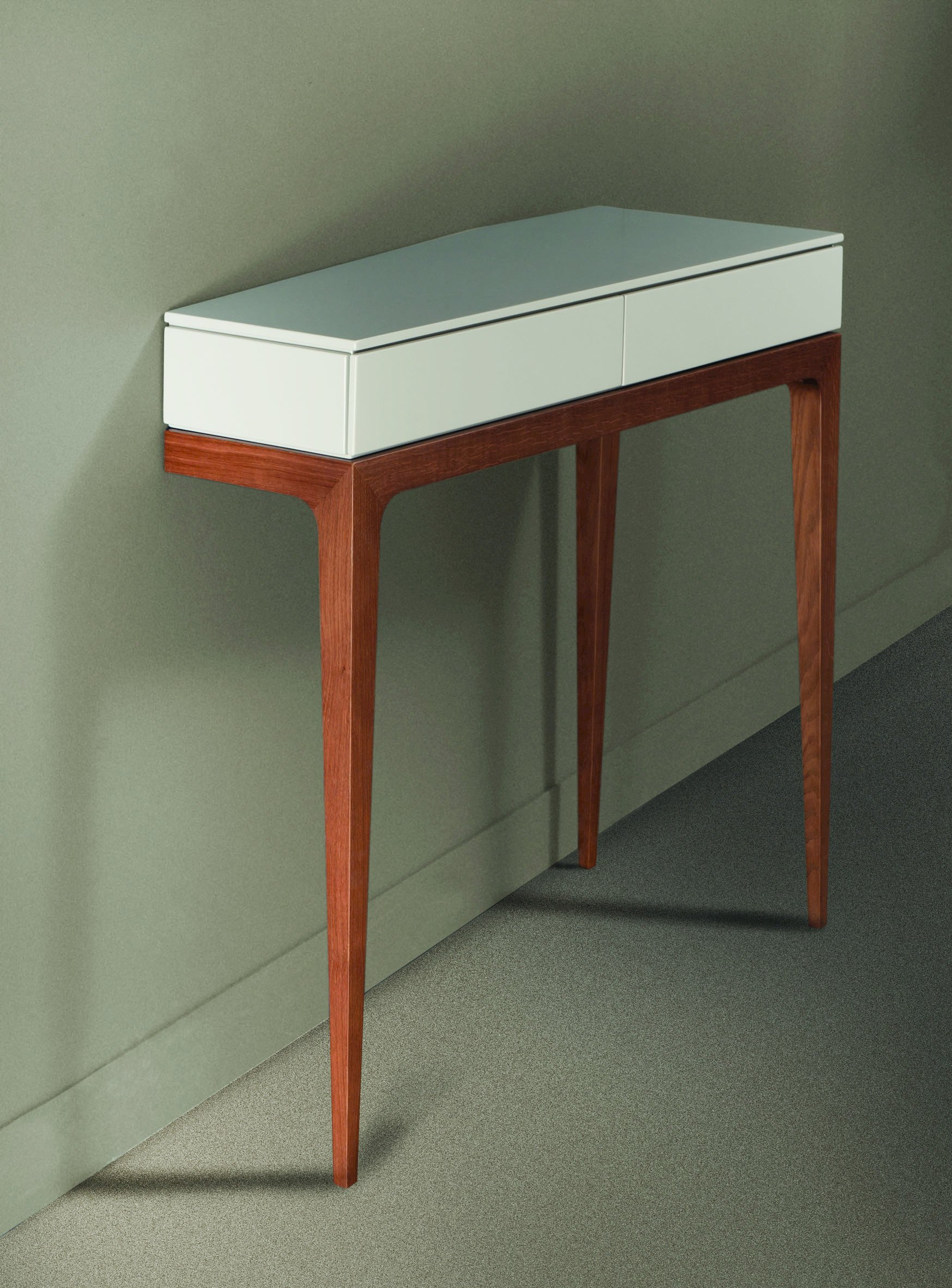 Table Console En Mdf Avec Tiroirs Moved Collection Les