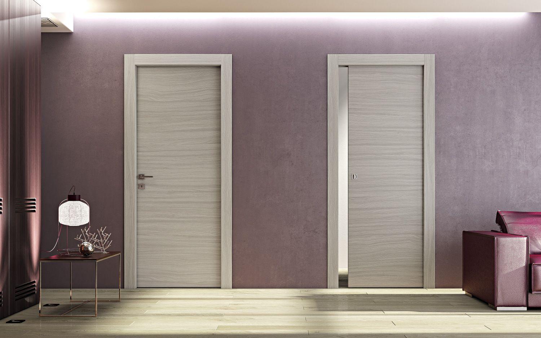 Porta scorrevole a scomparsa in legno ms collezione ms by - Porta scorrevole a scomparsa ...