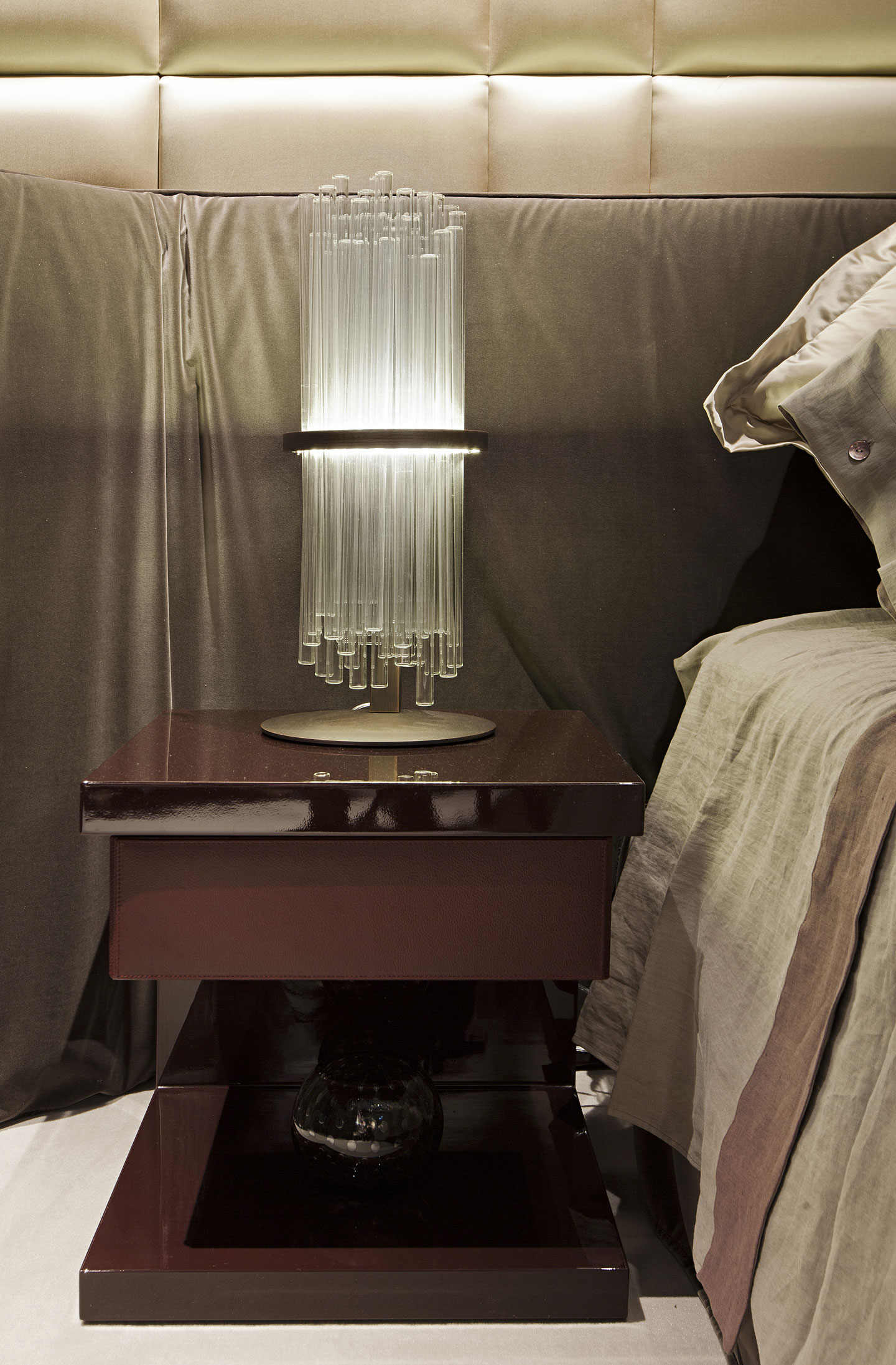 My Bedside Table: Lacquered Bedside Table MY LITTLE My Collection By Paolo