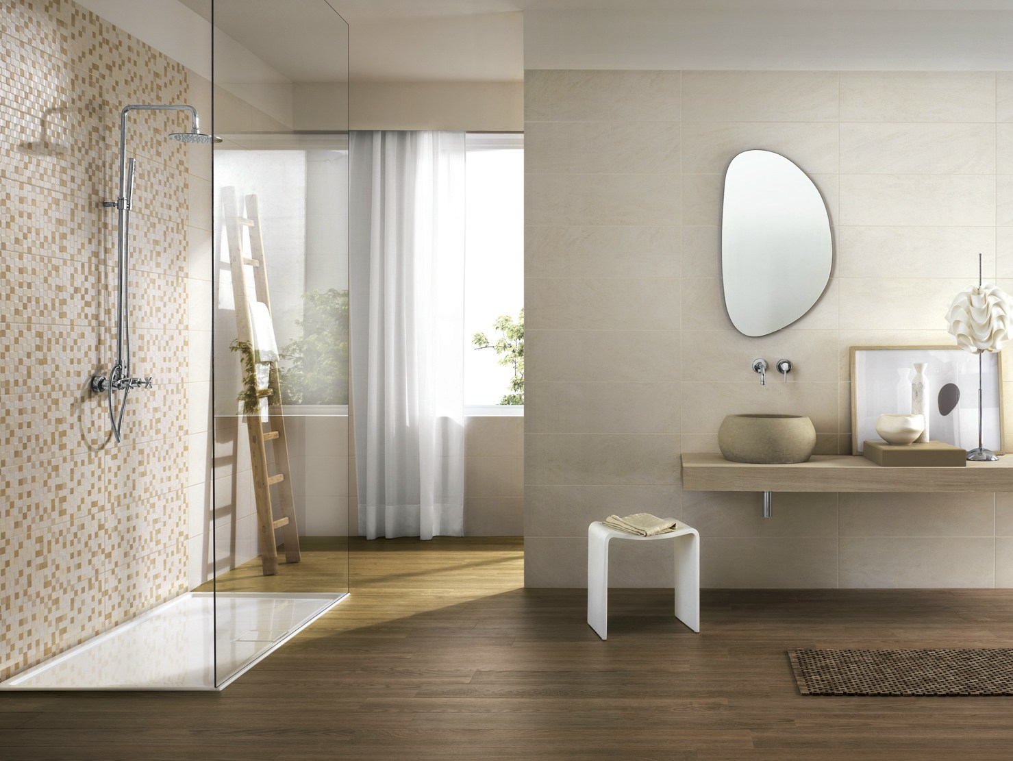 Natural mosaico by ragno for Carrelage marazzi
