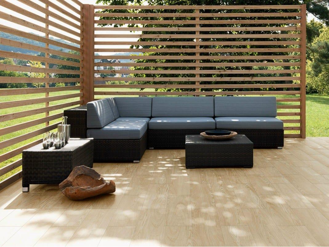 bodenbelag aus feinsteinzeug mit stein effekt nature side. Black Bedroom Furniture Sets. Home Design Ideas