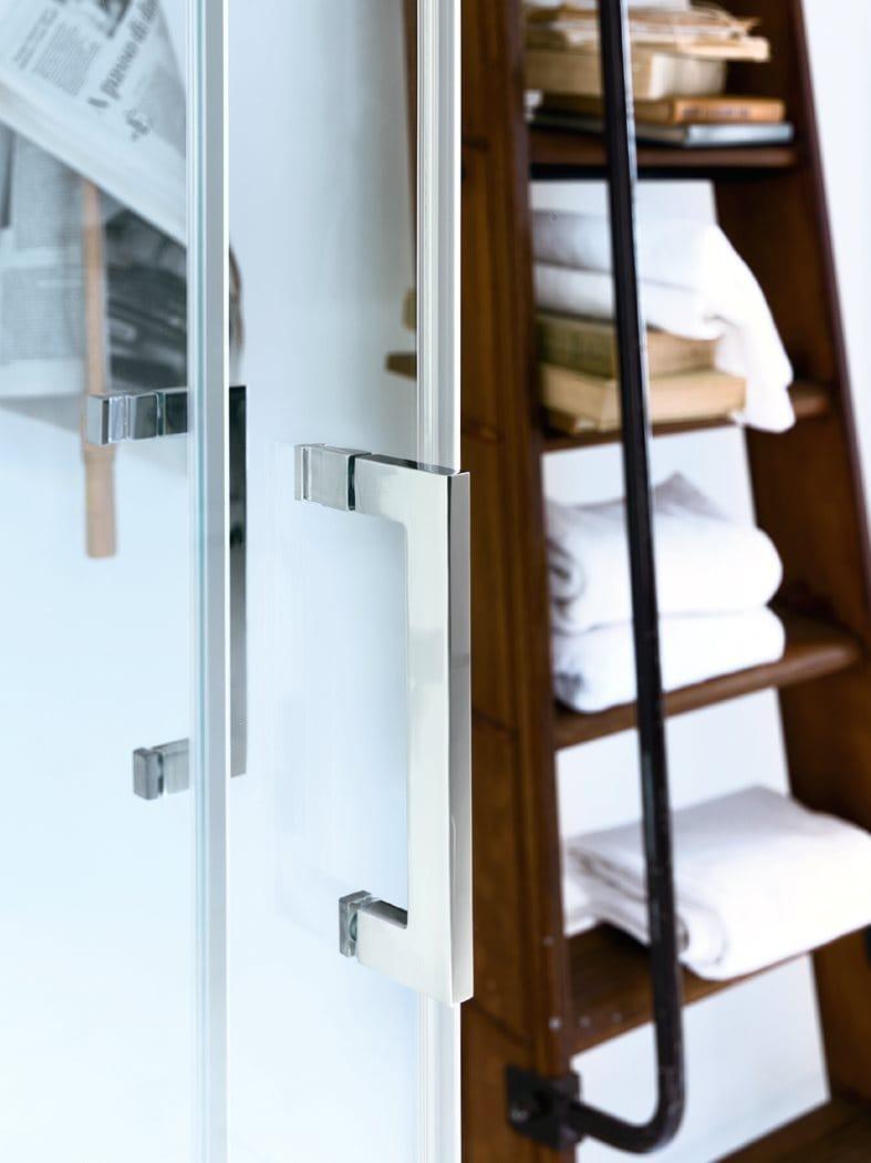 Box doccia angolare con porta scorrevole NEW CLAIRE - 1 Collezione ...