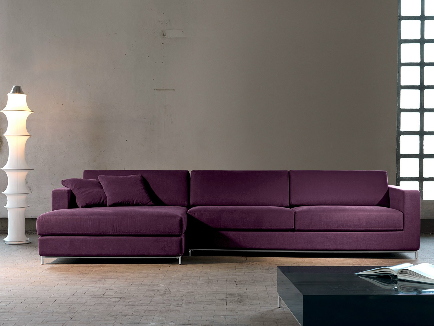 Newman canap avec m ridienne collection newman by domingo for Canape avec meridienne amovible