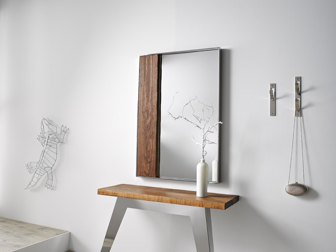 Contemporary Style Rectangular Mirror Nordic Wall Mounted