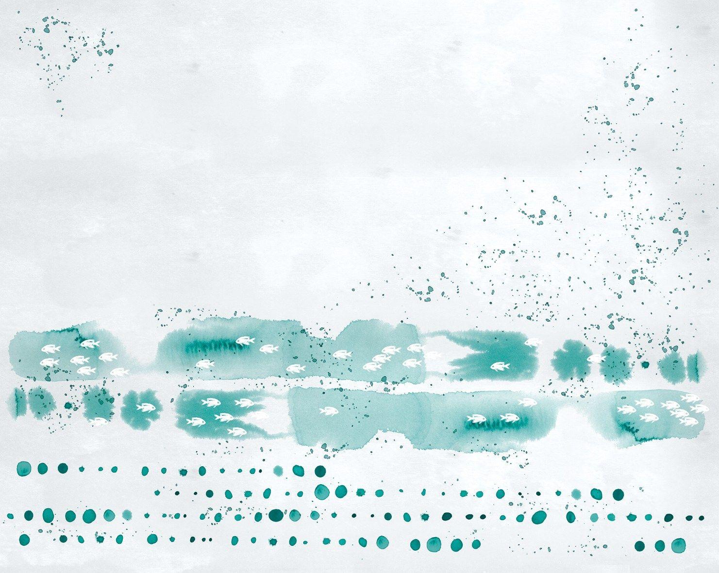 motif wallpaper ocean drops wet system 15 collection by. Black Bedroom Furniture Sets. Home Design Ideas