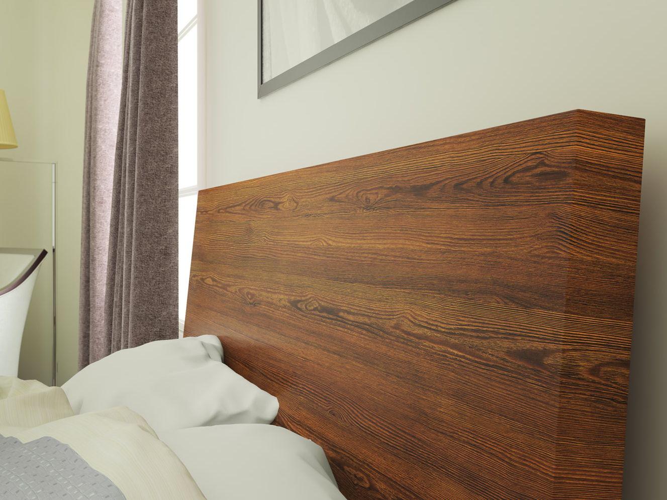 Revêtement pour meubles autocollant en plastique effet bois DARK ELM ...