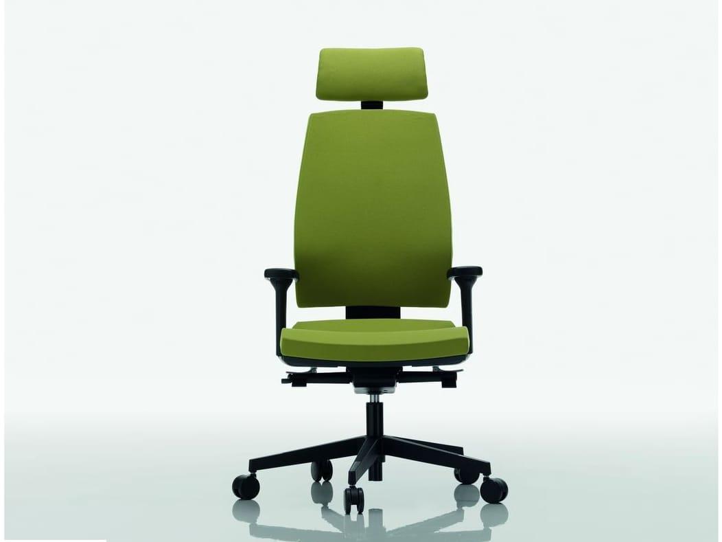 Omnia sedia ufficio operativa by quadrifoglio sistemi d for Quadrifoglio arredo ufficio