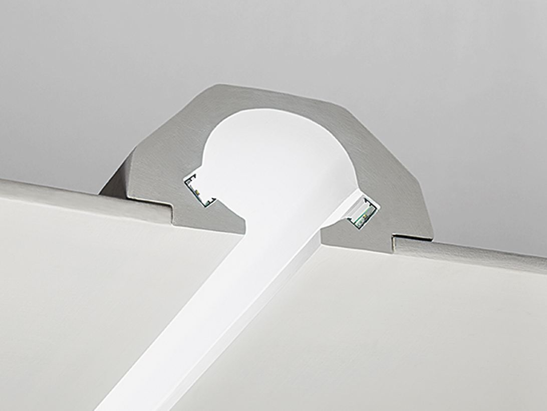 Gypsum Linear lighting profile P3 Indoor Linear Systems Line by NOBILE ...