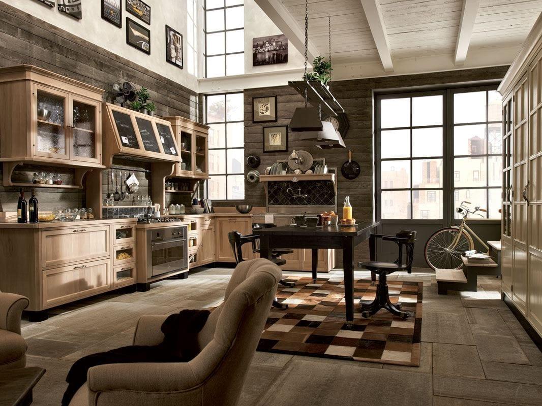 cucina componibile in legno massello panamera composizione 02 collezione panamera by marchi cucine. Black Bedroom Furniture Sets. Home Design Ideas